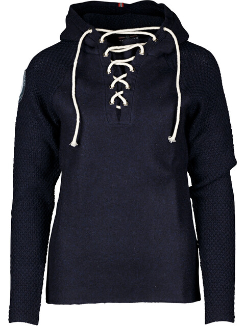 """""""Amundsen Sports W's Boiled Hoodie Laced Navy"""""""